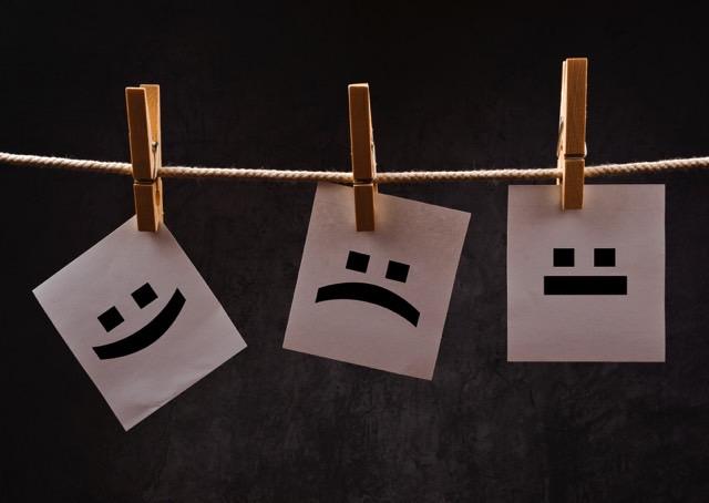 Ontem feliz, hoje estou triste