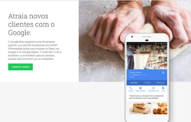 Google permite que micro e pequenas empresas criem sites gratuitamente