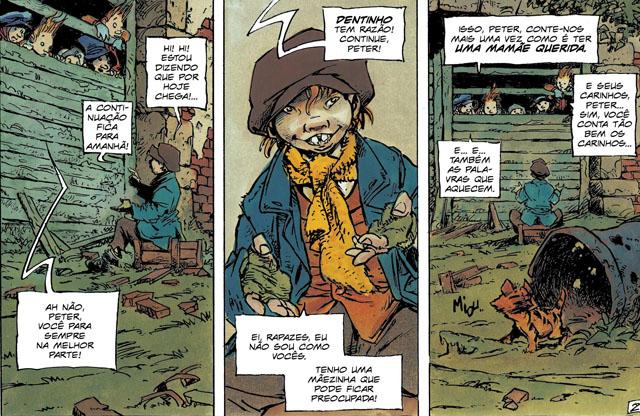Editora lança releitura do clássico Peter Pan: marginal, violento e impactante