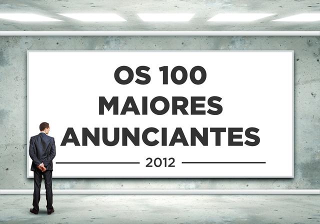 Mídia: veja o ranking dos 100 maiores anunciantes de 2012