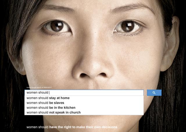 O que o mundo pensa sobre as mulheres, segundo as buscas no Google