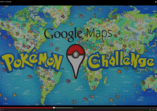 Google Maps utiliza Pokémon para criar desafio e pegadinha do Dia da Mentira