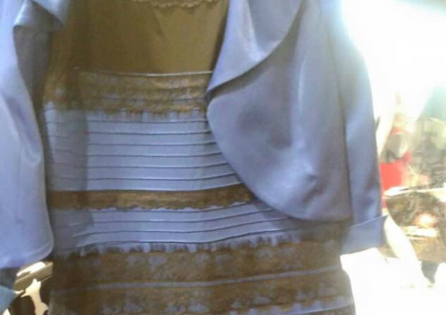 Azul E Preto Branco E Dourado Entenda A História Do Vestido Que