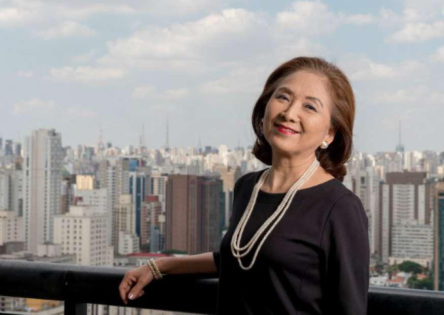 """Chieko Aoki, """"a dama da hotelaria"""""""