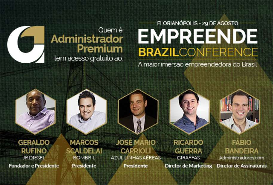 Administradores.com leva você, gratuitamente, à maior imersão empreendedora do Brasil