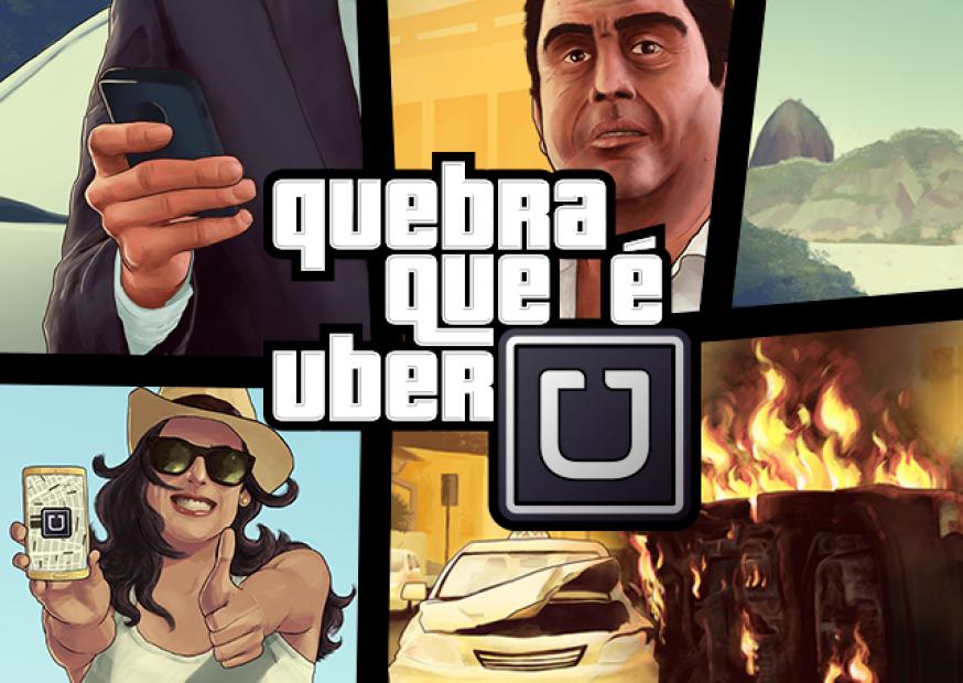 Quebra que é Uber