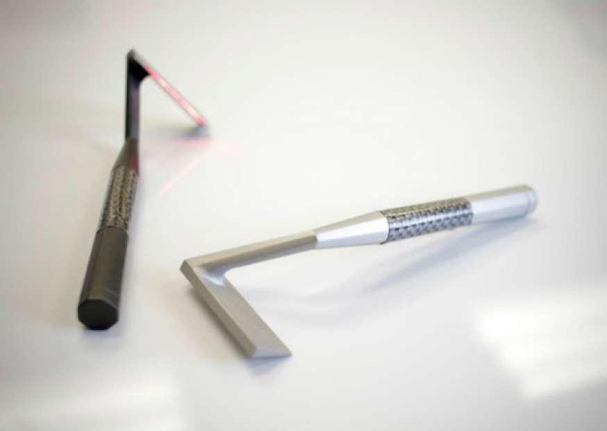 Barbeador a laser faz sucesso na internet