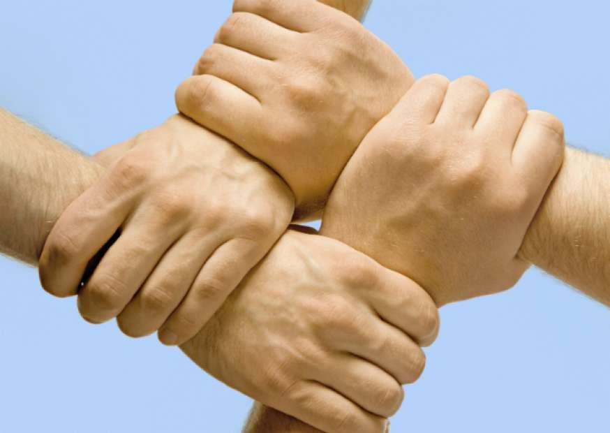 Solidariedade é a corrente que cuidará de você