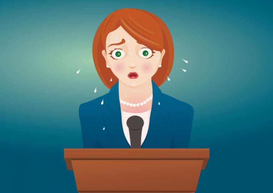 Você se sente num labirinto quando fala em público?