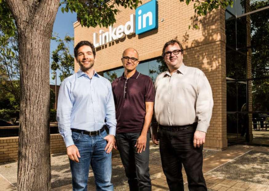 O que esperar do LinkedIn após à compra pela Microsoft?