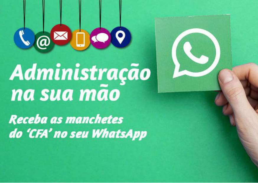 CFA no seu WhatsApp
