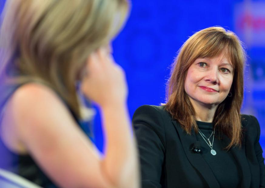 GM nomeia a primeira mulher como CEO de uma fabricante de carros