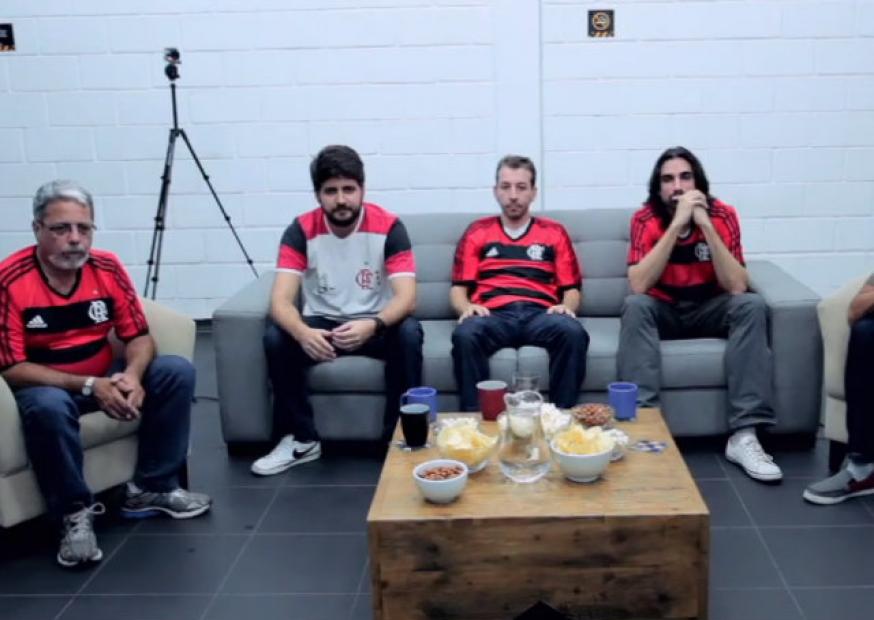 Fox Sports desafia flamenguistas a ficarem em silêncio durante jogo