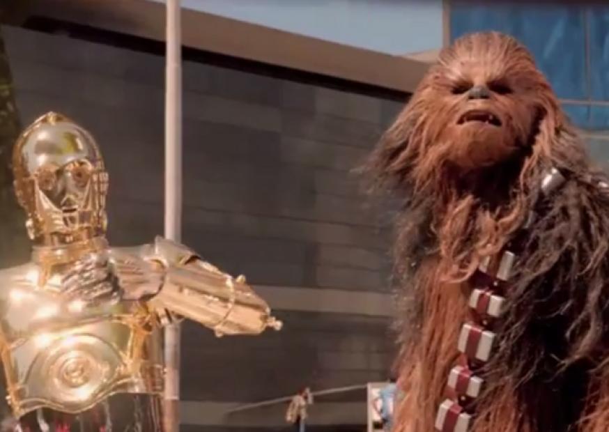 Primeiro comercial do Volkswagen Up! é protagonizada por Chewbacca, personagem de Star Wars