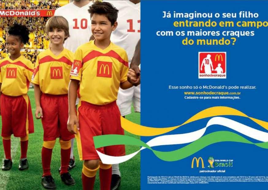 "McDonald's promove o concurso ""Sonho de Craque"" na América Latina"