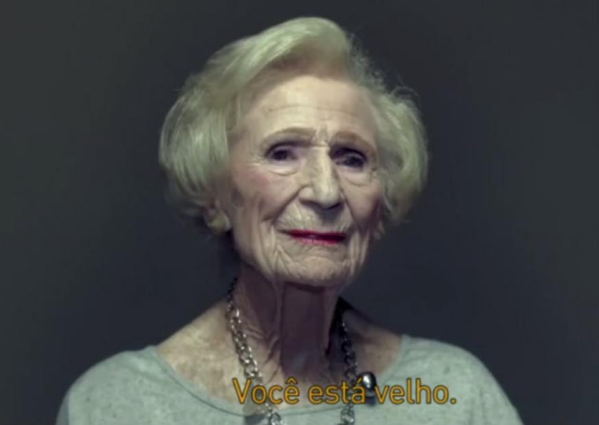 Instituição de caridade lança campanha emocionante sobre envelhecimento