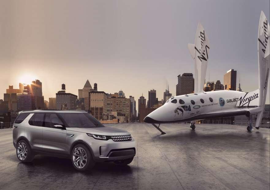 Land Rover lança parceria global com Virgin Galactic