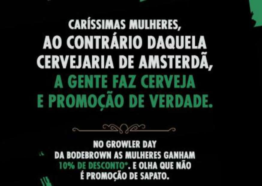 """Cervejaria ironiza Heineken com evento """"unissex"""""""