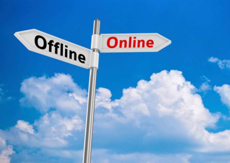 Como sair do mercado online para o offline?