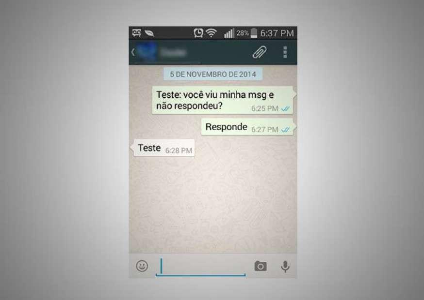 WhatsApp agora avisa quando contato vê mensagem
