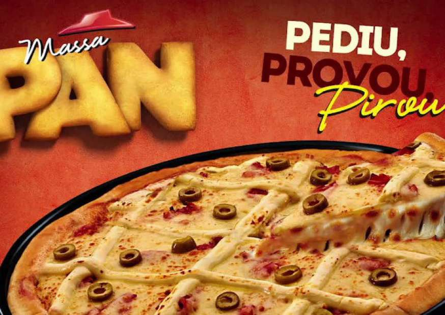 Pizza Hut Lança Vídeo Sem Imagem Para Promover Sua Massa