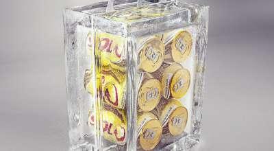 Skol cria embalagem para cerveja feita totalmente de gelo