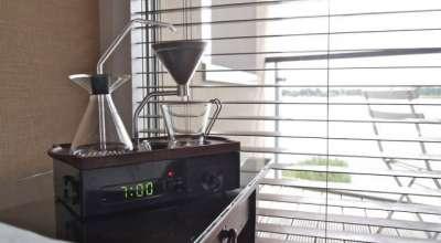 O despertador que prepara seu café