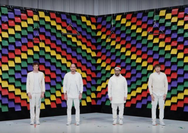 Banda americana OK Go usa 567 impressoras para realizar um clipe inovador