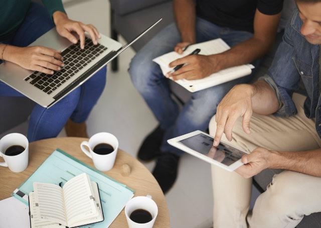 Pessoas, processos e colaboração