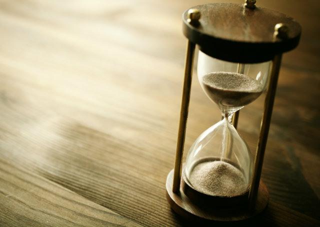 O valor do tempo é o tempo para alcançar o valor