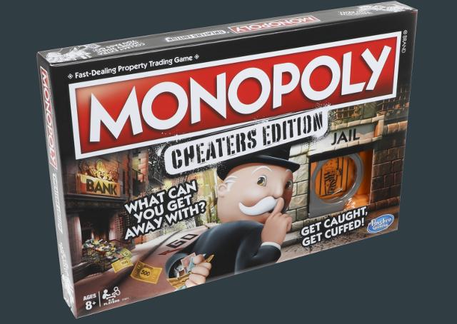 Hasbro anuncia Monopoly Cheater, onde a trapaça é regra