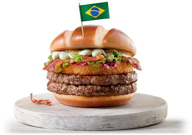 "McDonald's lança ""sanduíches da Copa"""