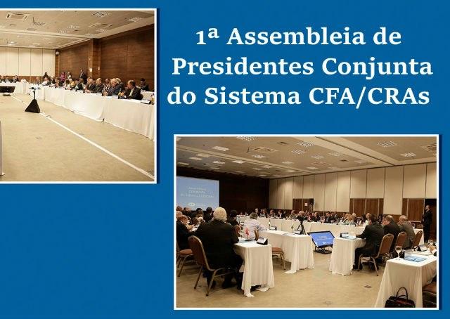 Evento reúne presidentes do Sistema CFA/CRAs na capital federal