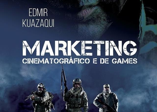 Livro explora estratégias de marketing para cinema e games
