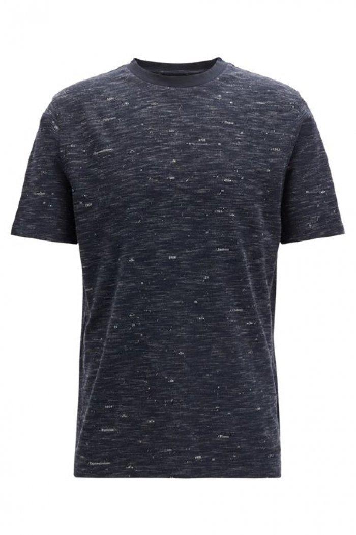 T-shirt met ronde hals HUGO BOSS TopArt