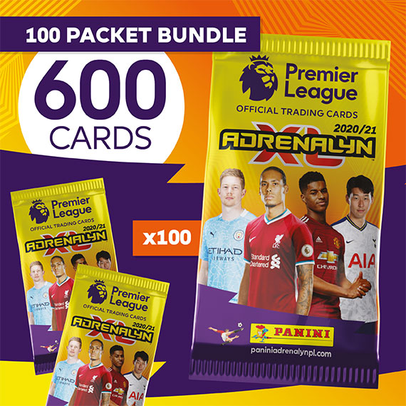 100 packet bundle/600 cards