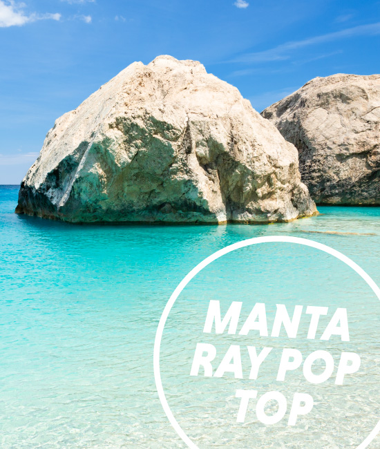 Manta Ray Pop Top