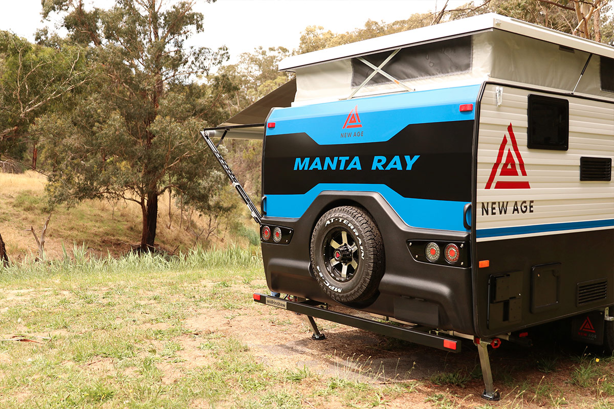 Manta-Ray Pop Top