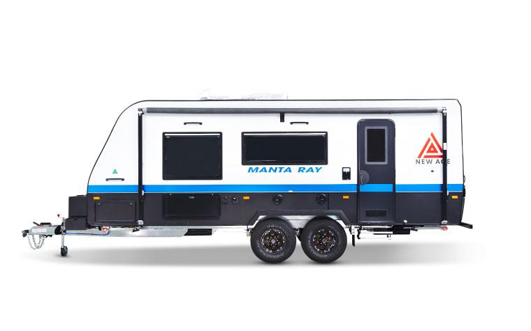 Manta Ray - New Age Caravans  |Manta Ray Range