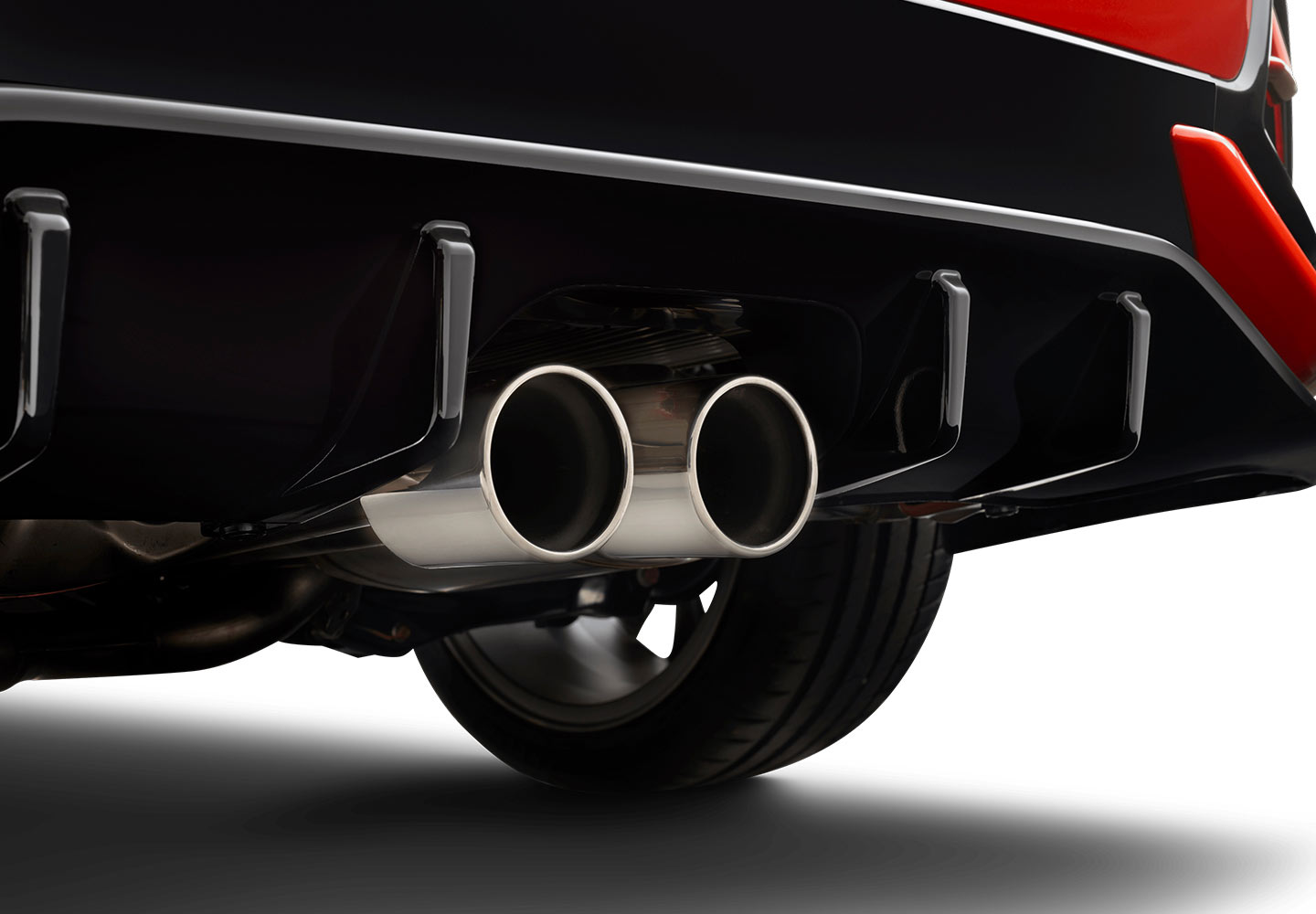 Central Twin Exhaust
