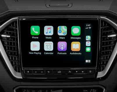 Apple CarPlay® & Android Auto™