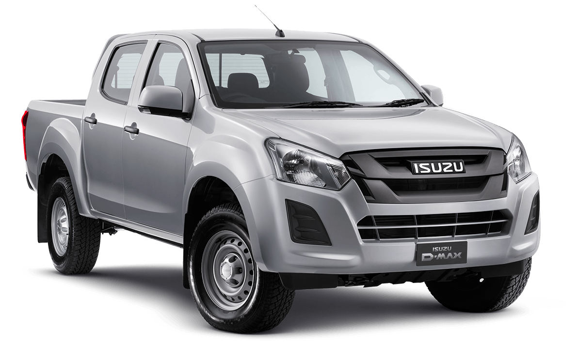 D-MAX 4x2 LR SX Single Cab Chassis ECO Tray