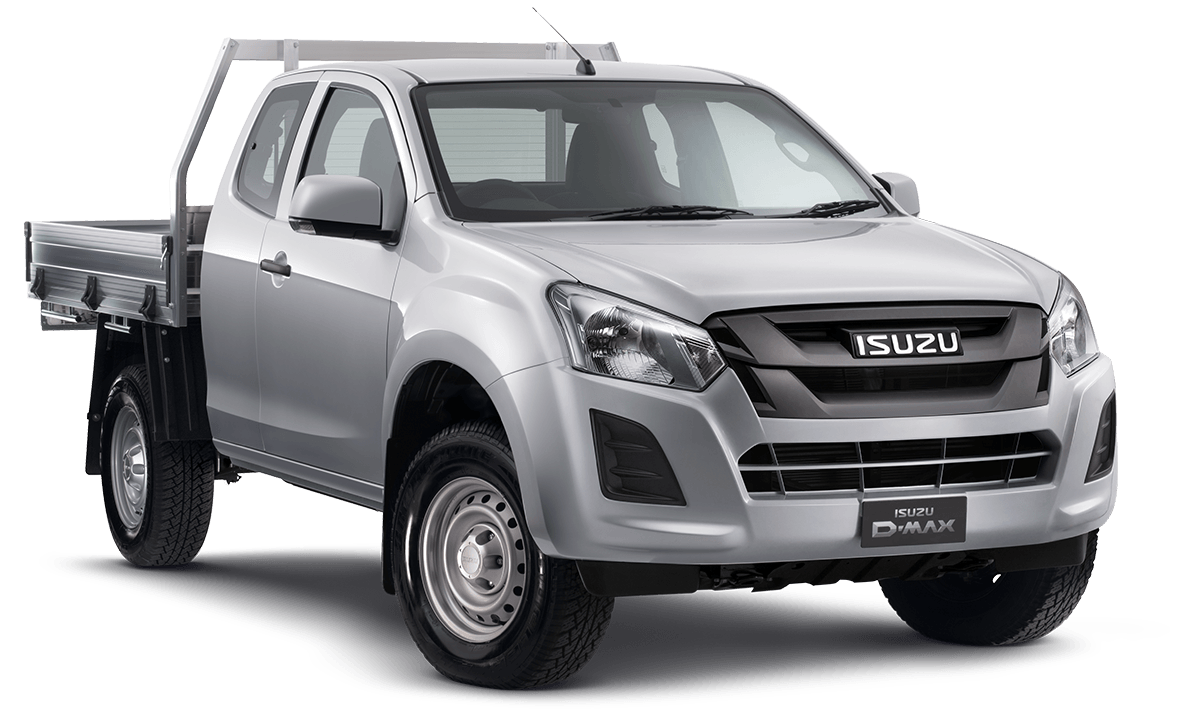 D-MAX 4x2 LR SX Single Cab Chassis GPA Tray