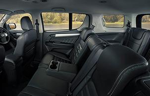 7 Seat comfort