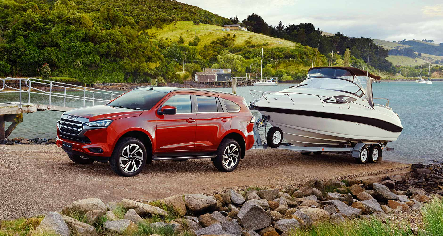 3.5T TOWING CAPACITY