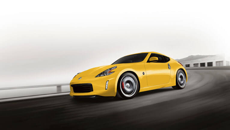370z coupe magmared