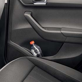 0.5 l bottle holder in rear door