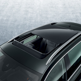 Panoramic electric roof