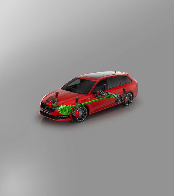 superb-sportline-wagon Stylish