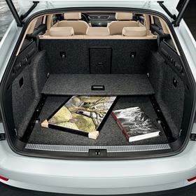 Flexible Storage Compartment